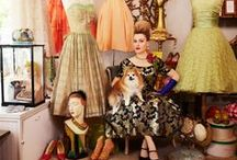Vintage Dresses : Xtabay Vintage Clothing Boutique /  Xtabay Vintage Clothing Boutique in Portland, Oregon.  xtabayvintage.com  / by Xtabay Vintage Clothing Boutique and Bridal Salon