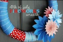 4th of July / Celebrating our country's freedom with easy crafts and yummy recipes!