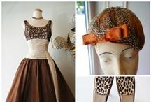 1950's Party Dress (and what to wear with it) / This complete look is available at Xtabay Vintage Clothing Boutique.