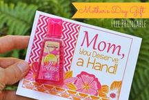 Mother's Day / Sweet little gifts and meaningful ways to celebrate the mamas in your world on Mother's Day.