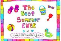 Summer Bucket List / Everything you dream about doing this summer organized in one place!