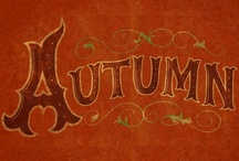 Season: Autumn! / A North American autumn is what this Jersey Girl living in Florida misses.  So now I can visit it here! / by Carla Perez