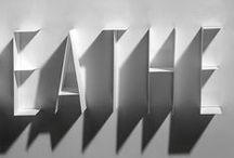 Typography 3 D