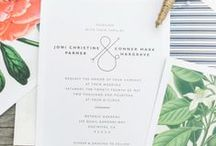 stationery & invitations / by Diana Lewis