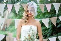 Country Wedding Style / Stylish ideas for a country wedding
