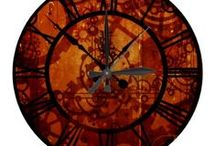 Steampunk Shopping / I love steampunk syle and this collection of products is full of fun. The designs found on these t-shirts, clocks and more have gears, cogs, compasses and more.