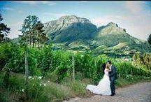 Wineland Wedding Venues / South African wineland wedding venues