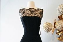 The Little Black Dress / Over the years at Xtabay we've had many a little black dress. These are some of our favorites now and then.