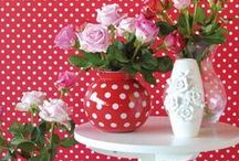 Everything Polka Dots / A fun board filled with all things with polka dots.