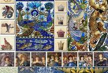 William Morris Tile Catalog / William Morris Tile - Tile in the William Morris and William De Morgan Tradition  Victorian, Arts & Crafts, Pre-Raphaelite, and Medieval Tile.  williammorristile.com