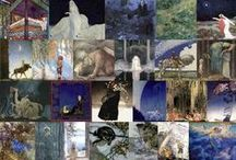 Art of Myth and Fairy Tale / Images from Art Passions and sister site Artsy Craftsy for Art Prints and Tile.  I'm adding to this board as I get the websites mobile-friendly and sharing as I go.