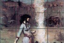 Pre-Raphaelite Women of Magic