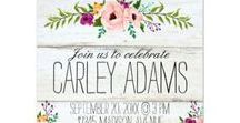 Colorful Baby Shower Invitations / Baby showers are so much fun. To set the mood of your shower choose a quality, easy to customize invitation. From baby themes, traditional colors or gender neutral styles these fun baby shower invites won't disappoint you.