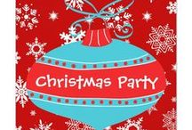 Christmas Holiday Party Invitations / Tiss the season to be jolly so why not share the fun! In this board you will find holiday Christmas party invitations in many styles and forms. From traditional flat card invites to greeting card styles all these invitations are entirely customizable by you. So decorate the home and invites everyone in for your Christmas party this year.