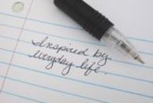 EverydayScribe / Posts from my blog. Inspired by everyday life. Don't miss a moment!
