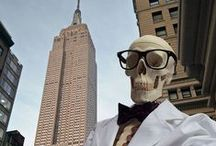 Kiehl's #Bonesie / Follow Kiehl's Mr. Bones and his #bonesie pictures all over New York.
