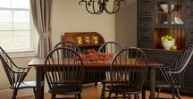 Farmhouse Tables / Wonderful Farmhouse Tables! Looking for that perfect Farmhouse Table? Visit Farmhouse and Cottage and have one custom made!