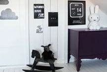 Trends We Love - Monochrome Kids Rooms
