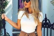 Summer Style / This board is a collection of summer style wear. I'm saving flip flops, summer clothing and bags too. Now that summer is here I want to look great and feel comfortable.