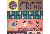 CHILDREN - circus / by Lief Leuk & Eigen geboortekaartjes