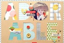 Scrapbook Inspiration / by Amanda @ Popper & Mimi