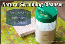 Cleaners / Natural cleaners that leans toward inexpensive and DIY. / by DIY Natural