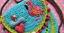 (Not only) Crochet bags & purses / This is fabulous world of crochet bags. I love them all :-)