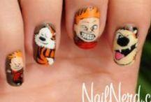 makeup && nails.