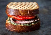 Food: Burgers, Wraps, & Sammiches /   / by Lisa C.
