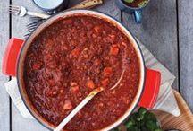 Food: Soups, Stews, & Chilis /   / by Lisa C.