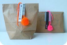 IDEAS - wrapping / by Lief Leuk & Eigen geboortekaartjes
