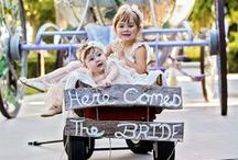 The Littlest Attendants / The littlest wedding party attendants often steal the show- and rightfully so! We complied some of our favorite flower girls, ring bearers and junior brides who melted our hearts and made us grin from ear to ear.