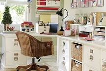 Craft rooms/workspaces, & Organize everything! / Anything & everything for a dream work/craft space!  / by Jeri