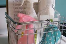 Cleaning tips & organizing ideas. / by Jeri