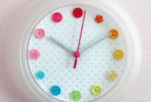 Clocks & Watches / Clocks and watches that I love.  Inspiring ideas for DIY and home décor