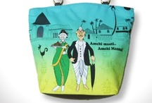 Ethni-cities of India / Bringing forth the nuances of India, in a new light. A funky collection of accessories inspired by the diverse Indian religions like- Bengalis, Punjabis, Maharashtrians, Parsis & South Indians.  Add zing to every-day life with these fun caricatures showcased on shopping bags, coffee mugs, cushion covers, coin pouches, shot glasses, i-Pad covers & more.
