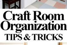craft room || Bastelzimme / I love all craftsrooms made for DIY  Ich liebe Bastelzimmer in denen man seine Bastelarbeiten selbermachen kann.