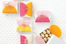 Gift Packaging & Wraps / Pretty packaging and DIY gift wrap ideas / by Amanda Coleman Designs