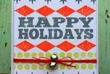 Christmas Card Inspiration / by Amanda Coleman Designs
