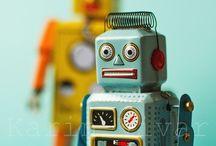 TRENDING - robot / by Lief Leuk & Eigen geboortekaartjes