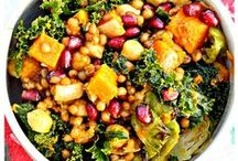 Food: Salads / See also: Dips, Dressings, Sauces, & Spreads board   / by Lisa C.