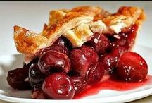 Food: Pies, Tarts, Tortes, & Cobblers / ... and crumbles. And cheesecakes.  / by Lisa C.