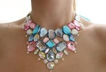 Beautiful Bib/statement necklaces.... / by Jeri