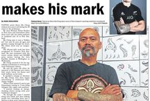 Samoan Tattoos Steve Ma Ching / HI, my name is Steve Ma Ching I am of Chinese/Samoan descent.Born in New Zealand and lived in Western Samoa for a Few years,educated over there at Chanel College(Moamoa) and then St Josephs College(Lotopa).Im 47 years old and have been tattooing for 32 years  ............. Location  Auckland , New Zealand   Phone number  +6498270487 for overseas people