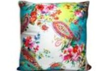 Spring Collection  / Cushion covers with bright summery prints!