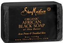 Black Soap products/Shea Moisture beauty... / Black Soap is a miracle skin product that most people have not tried. For acne/problem skin/congested pores, it's the holy grail... / by Jeri