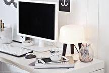OFFICE & CREATIVE SPACES / Offices & Creative Spaces #workspace / by Céline Navarro