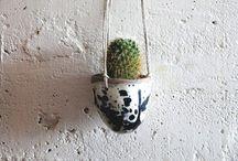 Kruka/vas / Keramik