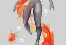 mermaid / Pisces Zodiac