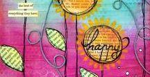 Stempel || DruckKunst / Gruppen Pinnwand für kreatives Stempeln und Drucken.   EIN PIN PRO PROJEKT-DANKE!
